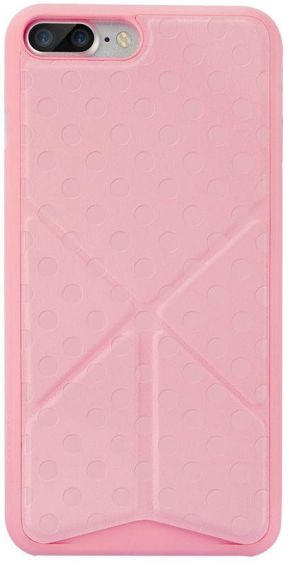 Ozaki O!coat 0.4+Totem Versatile Case чехол для iPhone 7 Plus, Pink ozaki oc112pr
