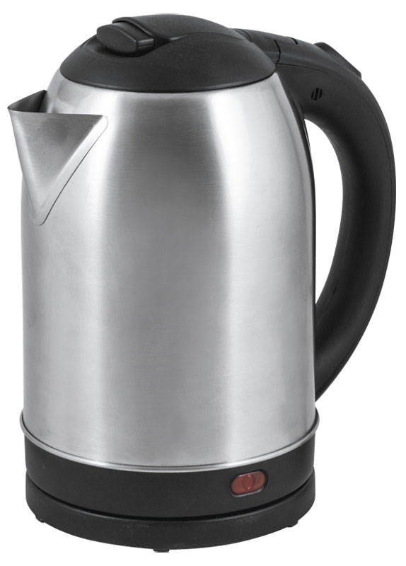 HomeStar HS-1009, Silver электрический чайник54 002829Электрический чайник HomeStar HS-1009 прост в управлении и долговечен в использовании. Изготовлен из высококачественных материалов. Мощность 1500 Вт быстро вскипятит 1,8 литра воды. Беспроводное соединение позволяет вращать чайник на подставке на 360°. Для обеспечения безопасности при повседневном использовании предусмотрены функция автовыключения, а также защита от включения при отсутствии воды.
