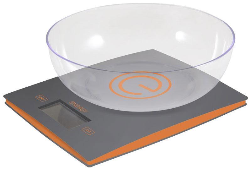 Energy EN-424, Gray кухонные весы54 159652Кухонные электронные весы Energy EN-424 - незаменимый помощник современной хозяйки. Они помогут точно взвесить любые продукты и ингредиенты. Кроме того, позволят людям, соблюдающим диету, контролировать количество съедаемой пищи и размеры порций. Предназначены для взвешивания продуктов с точностью измерения 1 грамм.Размер дисплея: 5,8 см х 2,7 смОбъем чаши: 2 л