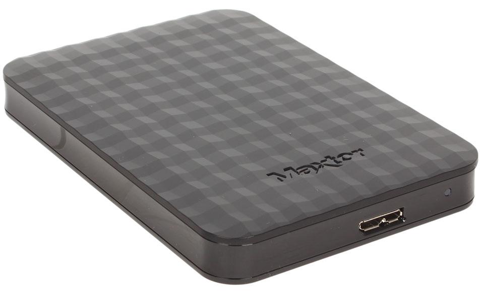 Seagate Maxtor M3 Portable 500GB USB 3.0, Black внешний жесткий диск (STSHX-M500TCBM)STSHX-M500TCBMЖесткий диск Seagate Maxtor M3 Portable привлекает не только ценой и качеством, но и стильным дизайном.Отличительной особенностью данной модели является не только солидный объем, но и версия интерфейса 3.0. Благодаря ней вы сможете гораздо быстрее копировать данные.Корпус устройства выполнен в стильном черном цвете из практичной пластмассы, способной выдерживать достойно нагрузки и защитить от механических повреждений.