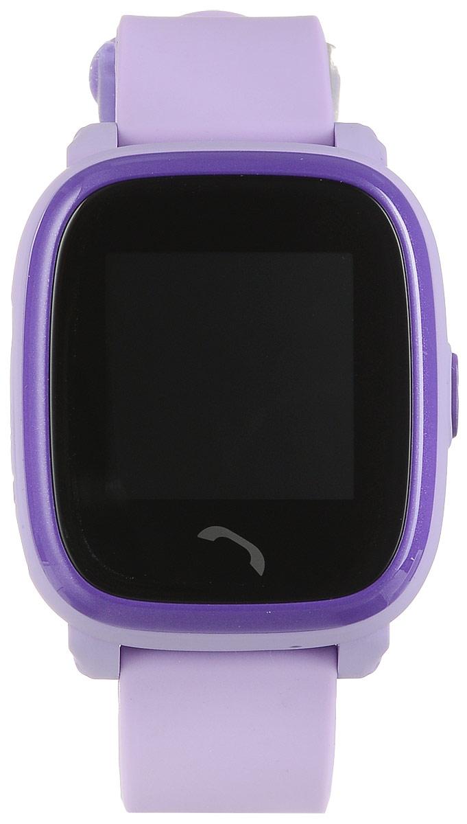 TipTop 400ВЦС, Violet детские часы-телефон00136Детские умные часы-телефон TipTop 400ВЦС с GPS-трекером созданы специально для детей и их родителей. С ними вы всегда будете знать, где находится ваш ребенок и что рядом с ним происходит. Управление часами происходит полностью через мобильное приложение, которое можно бесплатно скачать на AppStore или PlayMarket.Основные функции:Родители с помощью мобильного приложения всегда видят на карте, где находится их ребенокВ часы вставляется сим-карта. Родители всегда могут позвонить на часы, также ребенок может позвонить с часов на 2 самых важных номера - мама, папа. Также можно разрешать или запрещать номерам звонить на часы, например, внести в список разрешенных звонков только номера телефонов близких и родныхРодители могут слушать, что происходит рядом с ребенком - как няня обращается с ребенком, как ребенок отвечает на уроках Датчик снятия с руки - если ребенок снимет часы, то автоматически на телефон родителя придет уведомление. Также приходят уведомления, если часы разряженыВозможность установить гео-забор - зону, за которую ребенку не следует выходить. Если ребенок вышел - приходит уведомление на телефонФитнес-трекер - шагомер, пройденное расстояние, качество сна, потраченное количество калорийВ каком возрасте ребенку особенно необходимы часы TipTop с функцией GPS?Когда ребенок начинает ходить: уже с этого момента возникает опасность, что он может потеряться в многолюдных местах - супермаркете, аэропортах, вокзалах. Вы сможете отследить его месторасположение по GPS в любой момент. Напишите ФИО и ваш телефон на ремешке часов, если ваш малыш ещё не умеет разговаривать. С 3 до 8 лет: опасность потеряться в этом возрасте ещё выше. Как правило, дети ещё не знают наизусть номер телефона мамы, иногда даже и домашний адрес. Детские часы TipTop - яркий, удобный и красивый аксессуар, который всегда на руке у малыша, а значит вы всегда с ним на связи. Ребенок одним нажатием кнопки может позвонить вам! От 8 до 12 лет: первая самост