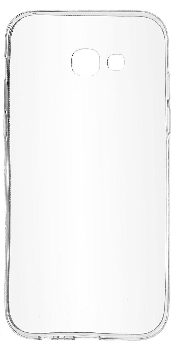 Skinbox Slim Silicone чехол для Samsung Galaxy A5 (2017), Transparent2000000126487Чехол-накладка Skinbox Slim Silicone для Samsung Galaxy A5 (2017) обеспечивает надежную защиту корпуса смартфона от механических повреждений и надолго сохраняет его привлекательный внешний вид. Накладка выполнена из высококачественного силикона, плотно прилегает и не скользит в руках. Чехол также обеспечивает свободный доступ ко всем разъемам и клавишам устройства.