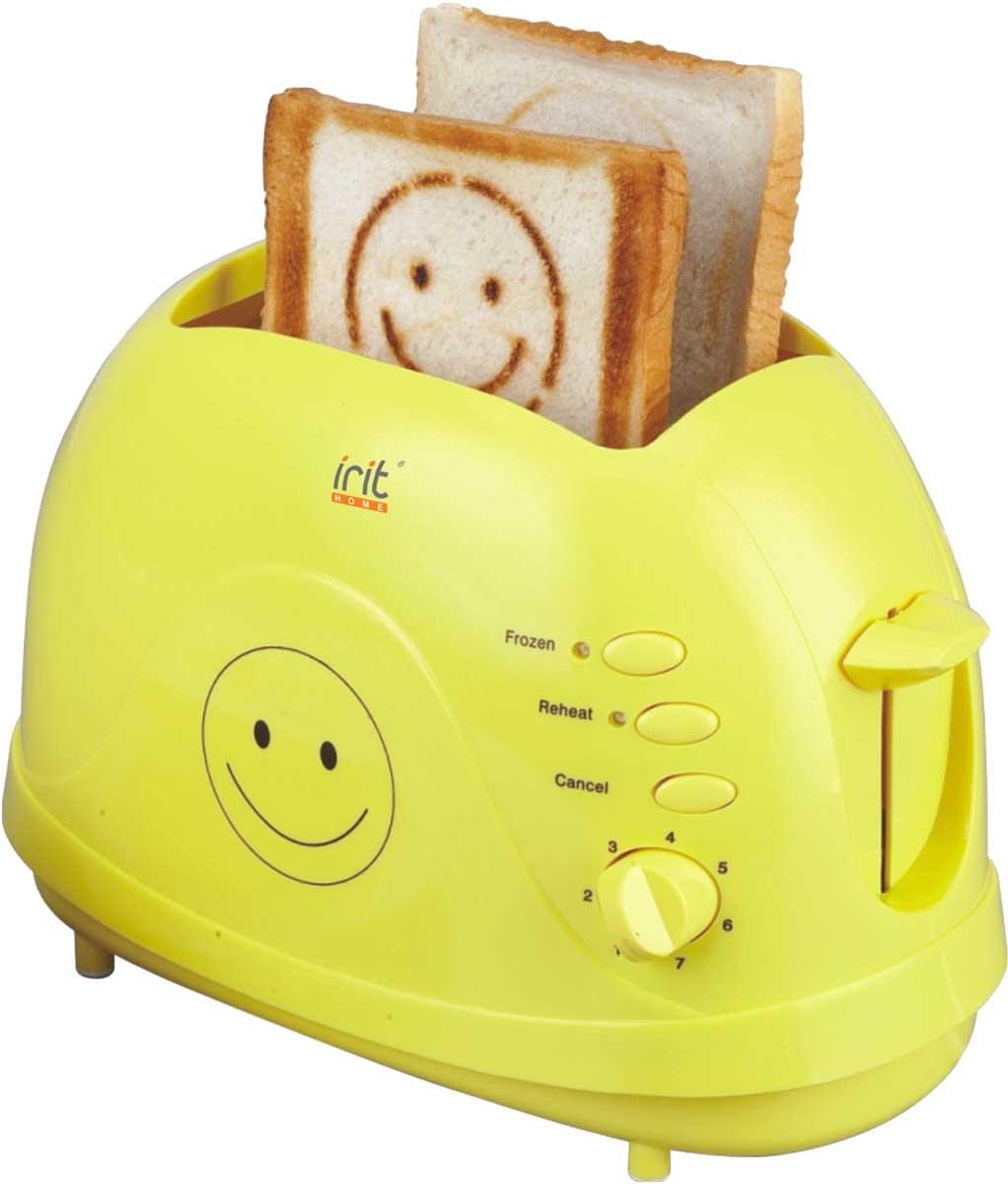 Irit IR-5103 тостер79 01288Компактный тостер Irit IR-5103 позволит вам приготовить хрустящие и ароматные тосты на завтрак. Выполнен из высококачественных материалов. 7 режимов позволяют регулируют степень поджаривания хлеба по вашему вкусу. Кнопка отмена поможет вовремя исправить сделанную спросонья ошибку. Ухаживать за тостером легко и приятно благодаря наличию поддона для крошек.