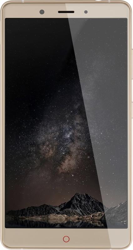 ZTE Nubia Z11 Max, GoldNX523J.4GB.GDZTE Nubia Z11 Max оснащен 6,0-дюймовым экраном, сканером отпечатка пальца, с помощью которого распознавание отпечатков пальцев происходит быстрее, чем когда-либо.Скорость и плавность фирменного интерфейса и требовательных к ресурсам игровых приложений обеспечивает производительная связка из процессора Snapdragon 652, 4 ГБ ОЗУ и адаптера Adreno 510.Телефон сертифицирован EAC и имеет русифицированный интерфейс меню и Руководство пользователя.