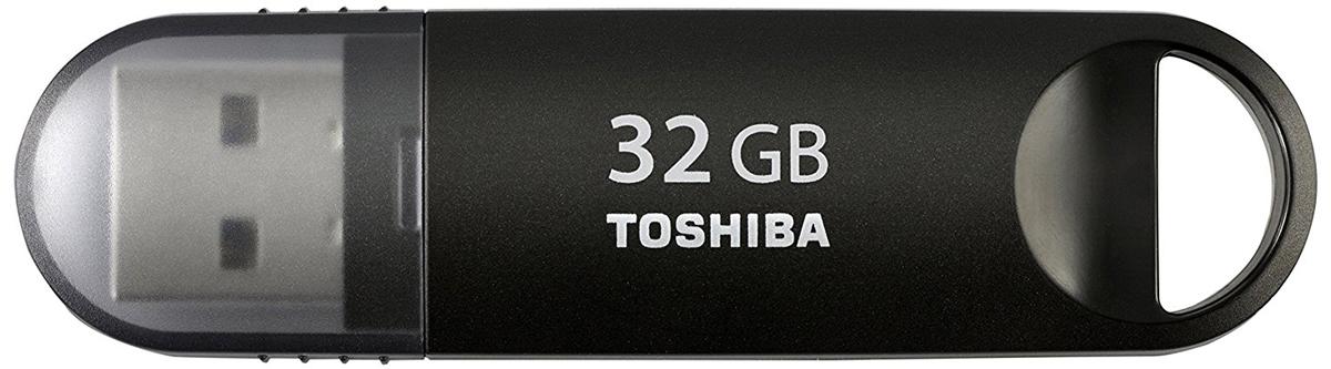 Toshiba U361 32GB, Black флеш-накопительTHN-U361K0320M4Toshiba U361 USB 3.0 - компактный и быстрый USB-накопитель.Перемещайте видео- и другие объемные файлы с данными с помощью высокоскоростного флэш-устройства компании Toshiba с интерфейсом USB 3.0. Этот накопитель новой серии позволяет переносить данные в два раза быстрее, чем при использовании интерфейса USB 2.0.В основу дизайна флэш-накопителя с интерфейсом USB 3.0 положена концепция самого популярного USB-накопителя компании Toshiba. Теперь вы можете наслаждаться высокой производительностью в сочетании с любимым дизайном.