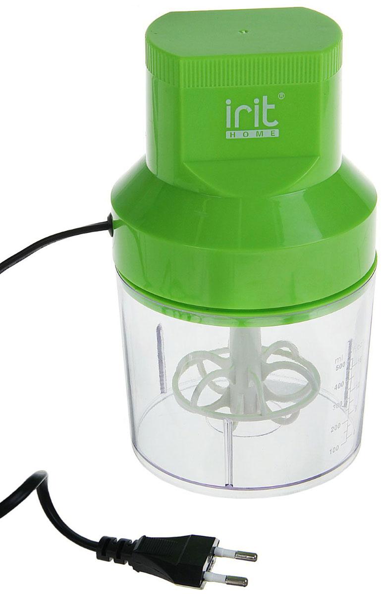 Irit IR-5041 измельчитель79 02507Измельчитель Irit IR-5041 поможет быстро приготовить салат, нарезать зажарку для супа, покрошить лёд для коктейлей, измельчить орехи для торта или сделать заготовку из мяса.Данная модель имеет прозрачную чашу с мерной шкалой, благодаря которой удобно контролировать количество ингредиентов. Корпус выполнен из ударопрочного пластика, ножи — из нержавеющей стали.Прибор имеет компактные размеры, его удобно хранить, и при этом он станет отличным помощником на кухне.