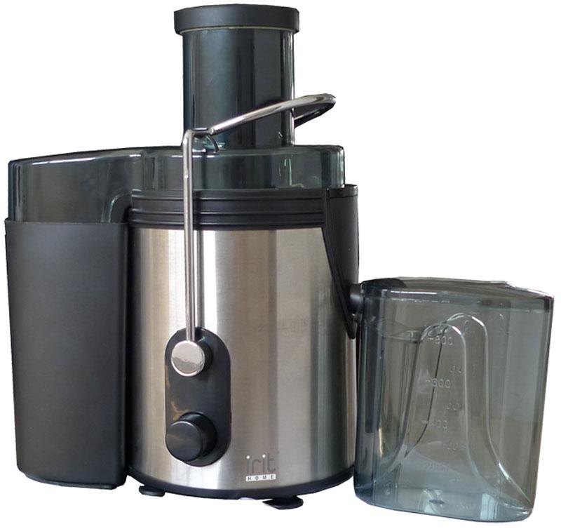 Irit IR-5604 соковыжималка79 02786Соковыжималка Irit IR-5604 дает возможность ежедневно наслаждаться вкуснейшими фрешами, которые, к тому же, очень полезны для здоровья.Благодаря высокой мощности и наличию двухскоростного режима приготовление сока займет считанные минуты, а вместительный резервуар и функция автоматического выброса мякоти помогут максимально удобно использовать устройство.Корпус сделан из высококачественных материалов, которые не выделяет неприятных запахов в процессе работы. Универсальный дизайн данной модели подойдет для каждого дома.Терка/фильтр из нержавеющей сталиКрышка с защитными фиксаторами