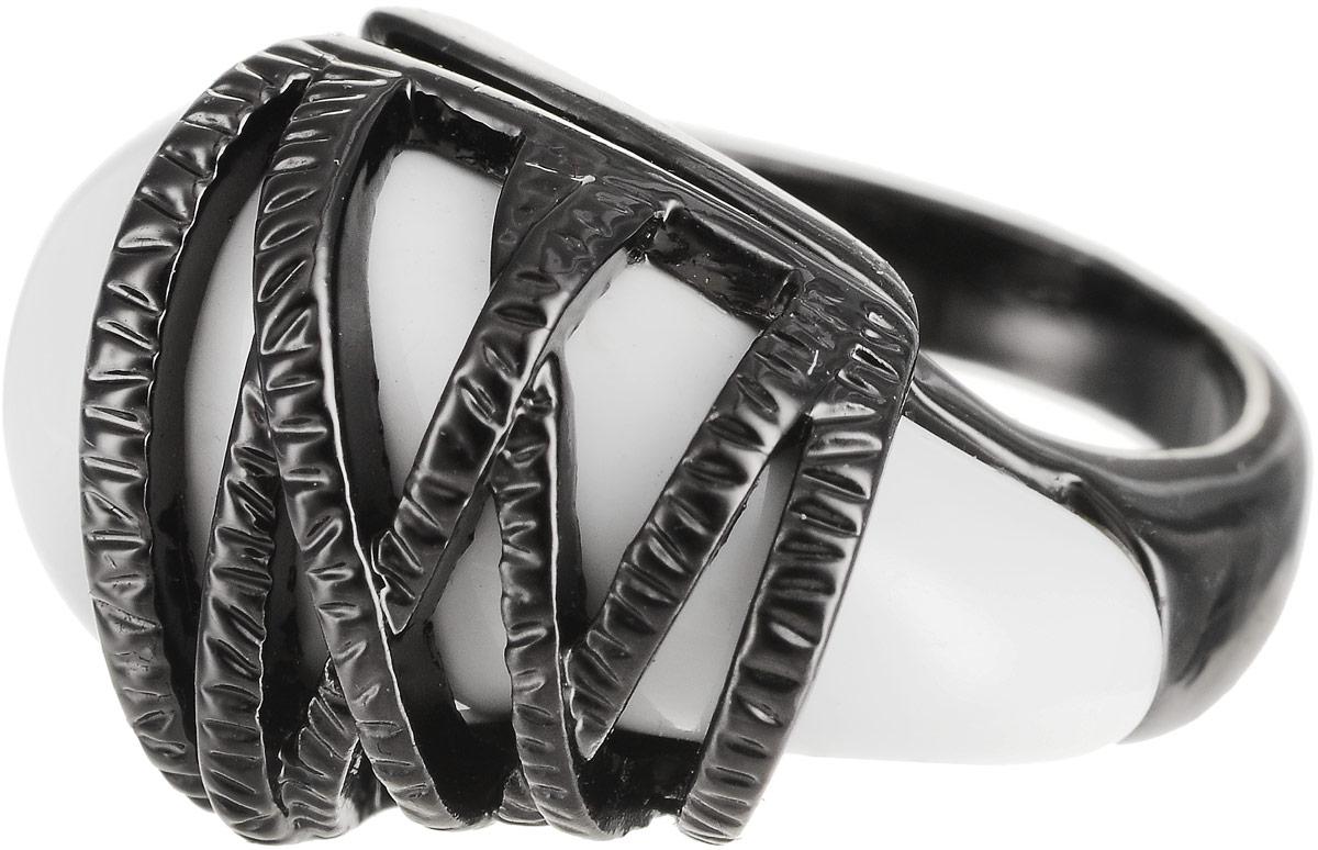 Кольцо Art-Silver, цвет: черный. 272-648. Размер 18Коктейльное кольцоОригинальное кольцо Art-Silver выполнено из бижутерного сплава с гальваническим покрытием. Кольцо украшено декоративными вставками.Элегантное кольцо Art-Silver превосходно дополнит ваш образ и подчеркнет отменное чувство стиля своей обладательницы.