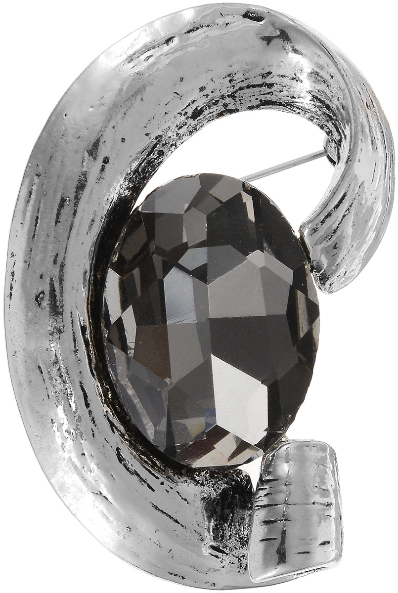 Брошь Art-Silver, цвет: серебряный. 08208237-438Брошь-булавкаСтильная брошь Art-Silver изготовлена из бижутерного сплава. Изделие оформлено оригинальной декоративной вставкой.Очаровательное украшение блестяще подчеркнет изысканный вкус, женственность и красоту своей обладательницы и поможет внести разнообразие в привычный образ.