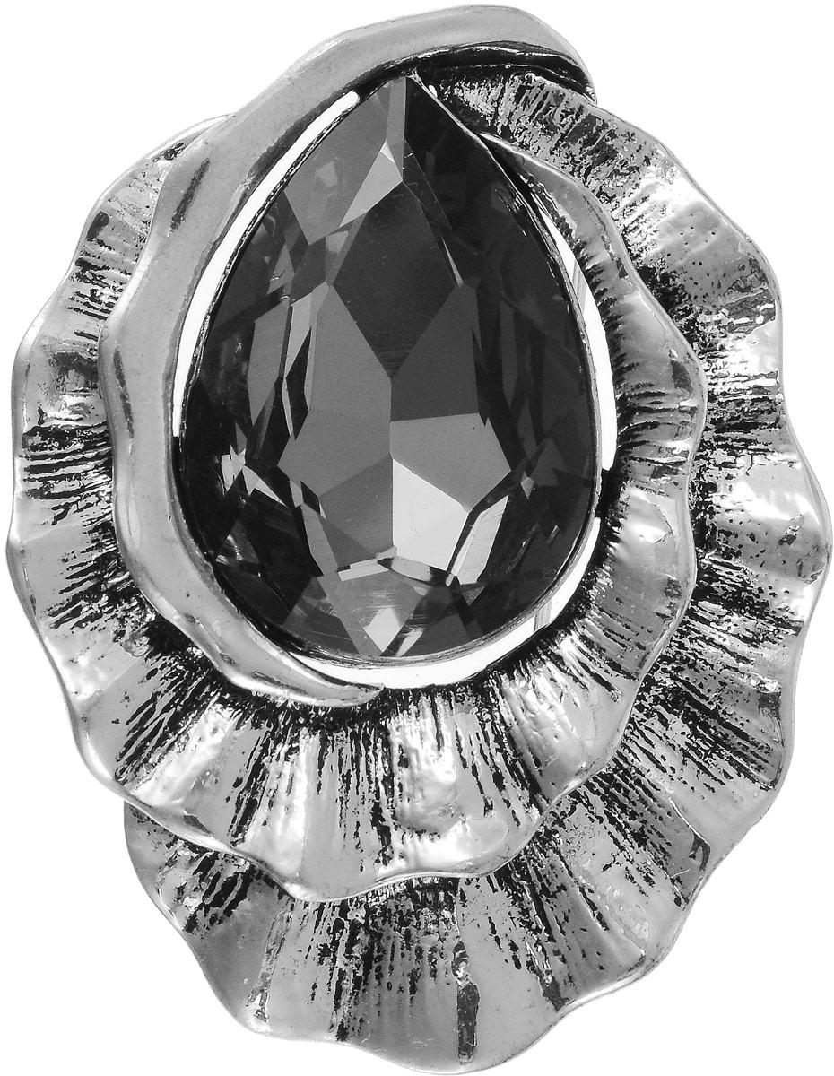 Брошь Art-Silver, цвет: серебряный, черный. 08208238-438Ажурная брошьСтильная брошь Art-Silver изготовлена из бижутерного сплава. Изделие оформлено оригинальной декоративной вставкой.Очаровательное украшение блестяще подчеркнет изысканный вкус, женственность и красоту своей обладательницы и поможет внести разнообразие в привычный образ.