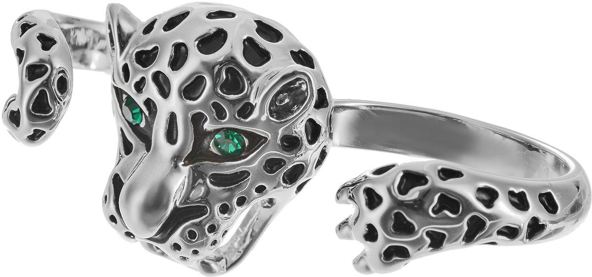 Кольцо на два пальца Art-Silver, цвет: серебряный. 01999-804. Размер 17Коктейльное кольцоОригинальное кольцо Art-Silver выполнено из бижутерного сплава с гальваническим покрытием. Кольцо на два пальца в виде животного с головой и лапами украшено декоративными вставками.Элегантное кольцо Art-Silver превосходно дополнит ваш образ и подчеркнет отменное чувство стиля своей обладательницы.