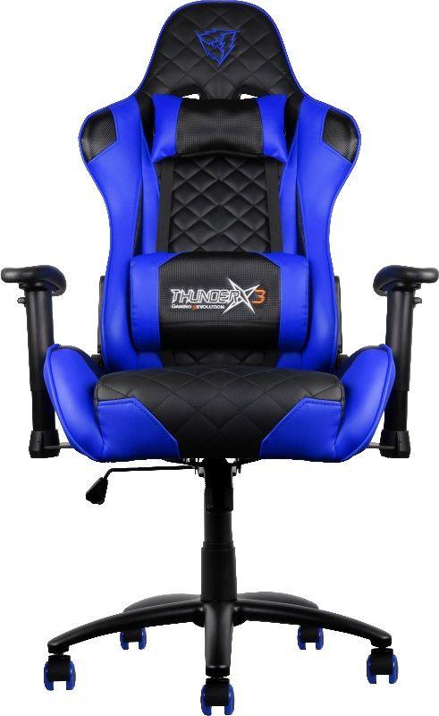 ThunderX3 TX3-12, Black Blue профессиональное геймерское кресло - Игровые кресла