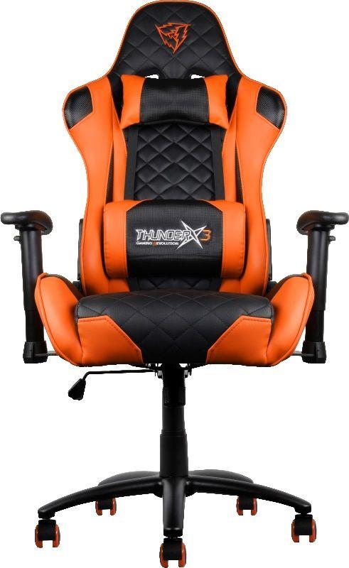 ThunderX3 TX3-12, Black Orange профессиональное геймерское кресло - Игровые кресла