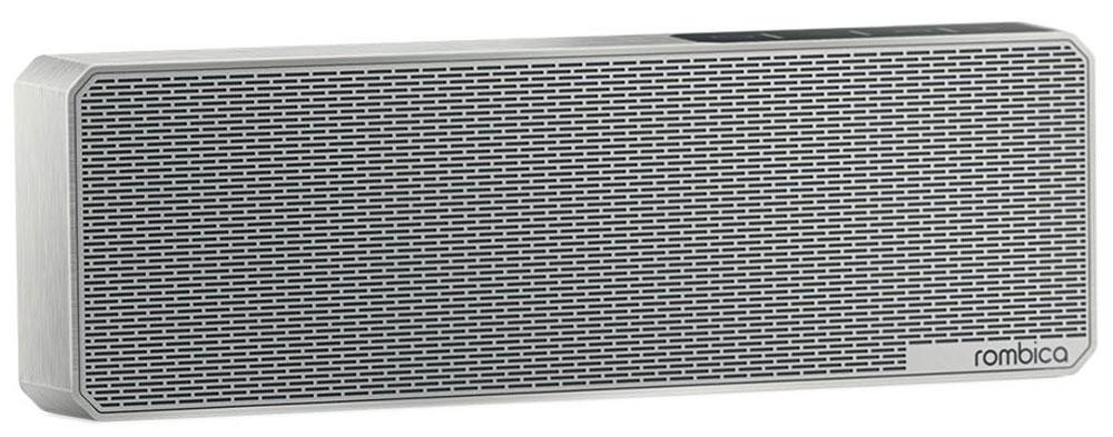 Rombica MySound BT-11 1C портативная акустикаSBT-0011GПортативная акустическая система Rombica MySound BT-11 1C совместима со всеми популярными устройствами с поддержкой Bluetooth. Также колонку можно использовать через AUX-подключение. Встроенный сабвуфер дает глубокий и насыщенный бас. Стерео динамики воспроизводят чистый и сбалансированный звук. Емкий аккумулятор 1200 мАч обеспечивает долгую работу. MySound BT-11 1C имеет встроенный микрофон для приема звонков.