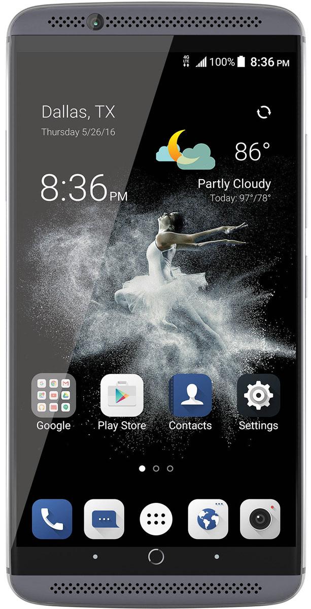 ZTE Axon 7, Steel - Смартфоны