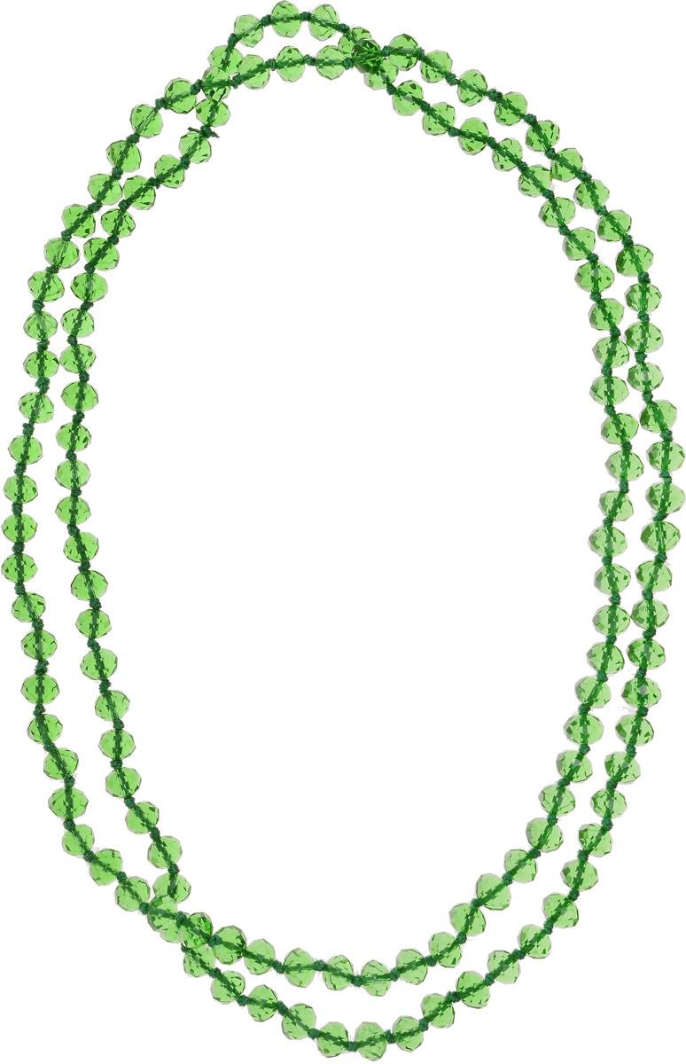 Бусы Револю Драгоценное сияние, цвет: зеленый. НХР-51(8)-110-13-GWLКолье (короткие одноярусные бусы)Переливающиеся хрустальные камни порой выглядят так же роскошно, как лучшие дорогостоящие камни высших сортов. Зачем же тогда тратить целое состояние, если можно недорого купить вот такую мерцающую роскошь?! Нарядные украшения из хрусталя окружат вас ореолом счастья и очарования!