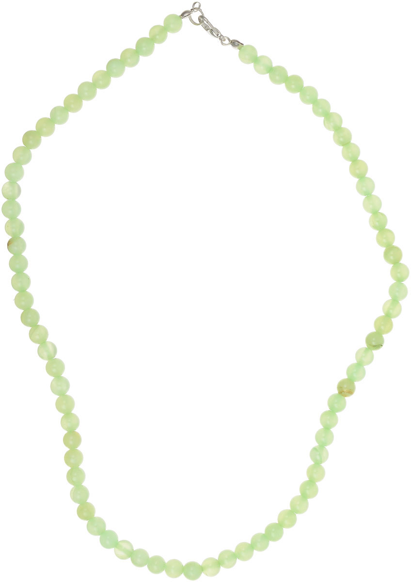 Бусы Револю Классика № 6, цвет: зеленый. НОН-1(6)-47-1Колье (короткие одноярусные бусы)Прекрасный оникс - это камень нарядный, благородный! Ониксовые украшения - это не просто нарядные вещички, это кредо, это образ жизни! Желаете ли вы выглядеть настоящей принцессой в любой ситуации, быть всегда прекрасной и яркой? Самое лучшее решение - это всегда носить чудесные изделия из оникса!