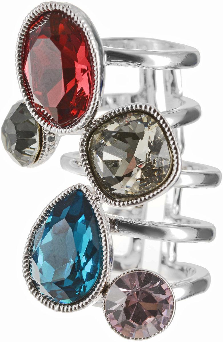 Кольцо Art-Silver, цвет: серебряный. 054912-1290. Размер 18,5Коктейльное кольцоОригинальное кольцо Art-Silver выполнено из бижутерного сплава с гальваническим покрытием. Кольцо украшено декоративными вставками.Элегантное кольцо Art-Silver превосходно дополнит ваш образ и подчеркнет отменное чувство стиля своей обладательницы.