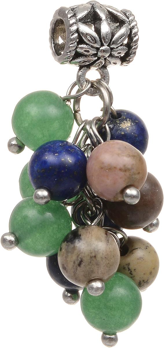 Кулон Револю 3 хранителя-Весы, цвет: зеленый. пд-кам2472Брошь-кулонКамни: лазурит, нефрит, родонит. Размер кулона: 15 х 30 мм. Перед вами - оригинальная и очень модная подвеска-оберег, три камня-хранителя знака Весов. Эти прелестные каменные бусинки способны на многое! Как известно, Весам часто недостаёт равновесия: смех сменяется слезами, а радость - печалью. Нежный родонит устранит из вашей жизни весь негатив, а туманно-зелёный нефрит поможет преодолеть встречающиеся трудности. Что касается лазурита, то этот камень усилит невероятную возможность Весов нравиться всем и каждому! Не скромничайте - вы действител