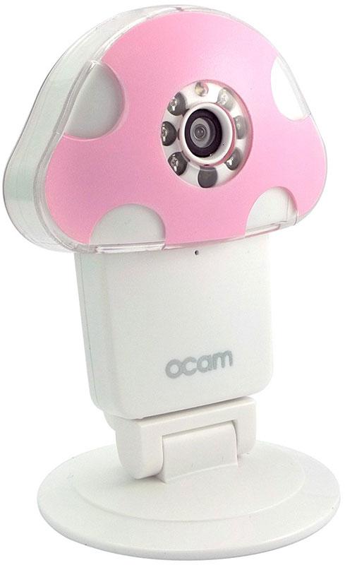 OCam-M1, Pink IP-камераOCAM-M1+PinkС помощью уникальной камеры OCam-M1 вы больше не будете переживать за безопасность своего дома, когда соберетесь в командировку или долгожданный отпуск. Она поможет вам следить за ребенком, престарелыми родителями и даже вашим домашним питомцем.Когда камера фиксирует плач вашего ребенка или какие-то посторонние звуки вокруг, системы слежения незамедлительно отправляют уведомления родителям и автоматически начинают запись в одну минуту, чтобы зафиксировать, что ребенок находится в безопасности. Кроме того, вы можете наблюдать за вашим ребенком даже в условиях плохого освещения.Ночной режим и инфракрасная подсветка, а также широкоугольная оптика позволят вам с комфортом наблюдать за сном вашего малыша даже в вечернее время суток.Возможность использования карты памяти объемом более 8 Гб позволяет делать записи длительностью почти в неделю.Для начала работы с камерой достаточно подключить ее к домашней сети Wi-Fi, следуя несложным указаниям в инструкции. После этого изображение можно просматривать, находясь в любой точке мира - для этого достаточно воспользоваться веб-интерфейсом или специальным мобильным приложением.Для шифрования сигнала, передаваемого камерой, используется современная технология AES. Она не позволяет посторонним людям, не знающим пароля, просматривать изображение.