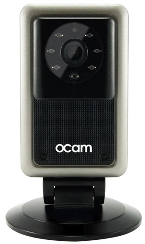 OCam-M2, Black Gold IP-камераOCAM-M2+GoldС камерой OCam-M2 у вас появится возможность присмотреть за своим домом, маленьким ребенком, пожилыми людьми и даже домашним питомцем.Строгий дизайн и удобная для дома или офиса камера наблюдения. Инженеры предусмотрели различные сценарии использования камеры, поэтому пользователю доступны несколько режимов работы. Переключаться между ними можно в один клик. Записанные видеофайлы и фотографии сохраняются на карту памяти microSD. Когда возникает движение или звук, камера активирует системы распознавания, после чего вы сразу получите уведомление в виде звонка или письма на электронную почту.Благодаря инфракрасной подсветке вы получите четкое изображение даже в условиях плохого освещения. Широкий угол обзора в 120° дает больший охват получаемого изображения, поэтому вы сможете наблюдать, к примеру, не только за ребенком, но и за окружающей его обстановкой во всей комнате.Наличие встроенного микрофона и динамика позволяет вам общаться с помощью камеры OCam-M2 даже дистанционно.Установите фирменное приложение OCam App на ваше мобильное устройство, настройте его и менее чем через три минуты вы сможете вести наблюдение в режиме реального времени в высоком качестве изображения 720p.