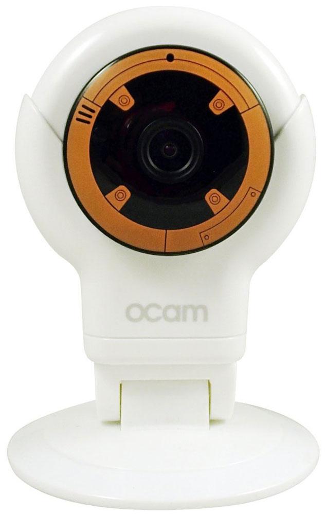 OCam-S1, Orange IP-камераOCAM-S1-OrangeС камерой OCam-S1 у вас появится возможность присмотреть за своим домом, маленьким ребенком, пожилыми людьми и даже домашним питомцем.Приятный дизайн и удобная для дома или офиса камера наблюдения. Инженеры предусмотрели различные сценарии использования камеры, поэтому пользователю доступны несколько режимов работы. Переключаться между ними можно в один клик. Записанные видеофайлы и фотографии сохраняются на карту памяти microSD. Когда возникает движение или звук, камера активирует системы распознавания, после чего вы сразу получите уведомление в виде звонка или письма на электронную почту.Благодаря инфракрасной подсветке вы получите четкое изображение даже в условиях плохого освещения. Широкий угол обзора в 120° дает больший охват получаемого изображения, поэтому вы сможете наблюдать, к примеру, не только за ребенком, но и за окружающей его обстановкой во всей комнате.Наличие встроенного микрофона и динамика позволяет вам общаться с помощью камеры OCam-S1 даже дистанционно.Установите фирменное приложение OCam App на ваше мобильное устройство, настройте его и менее чем через три минуты вы сможете вести наблюдение в режиме реального времени в высоком качестве изображения 720p.