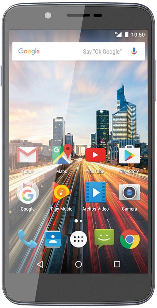 Archos 55 Helium Ultra55 Helium UltraARCHOS 55 Helium Ultra предоставляет возможность использовать две SIM-карты, становясь идеальным спутником для делового человека, разделяющего звонки по работе и частные. Думаете, вам может не хватить встроенной в смартфон памяти? С помощью карты microSD вы можете увеличить ее до 128ГБ.Смартфон последнего поколения, совместимый с сетями 4G/LTE для максимальной скорости работы с данными.Делайте прекрасные фотографии при любом освещении с помощью задней камеры 8 Мпикс и LED-вспышки, установленных в ARCHOS 55 Helium Ultra. Или хотите провести видео-чат? С помощью передней камеры ARCHOS 55 Helium Ultra нет ничего проще!Оснащенный 4-ядерным процессором и 3 ГБ оперативной памяти, ARCHOS 55 Helium Ultra готов справиться с любым приложением. HD-видео, многозадачность и ресурсоемкие игры - смартфон справится со всем.Смартфон сертифицирован EAC и имеет русифицированный интерфейс меню и Руководство пользователя.