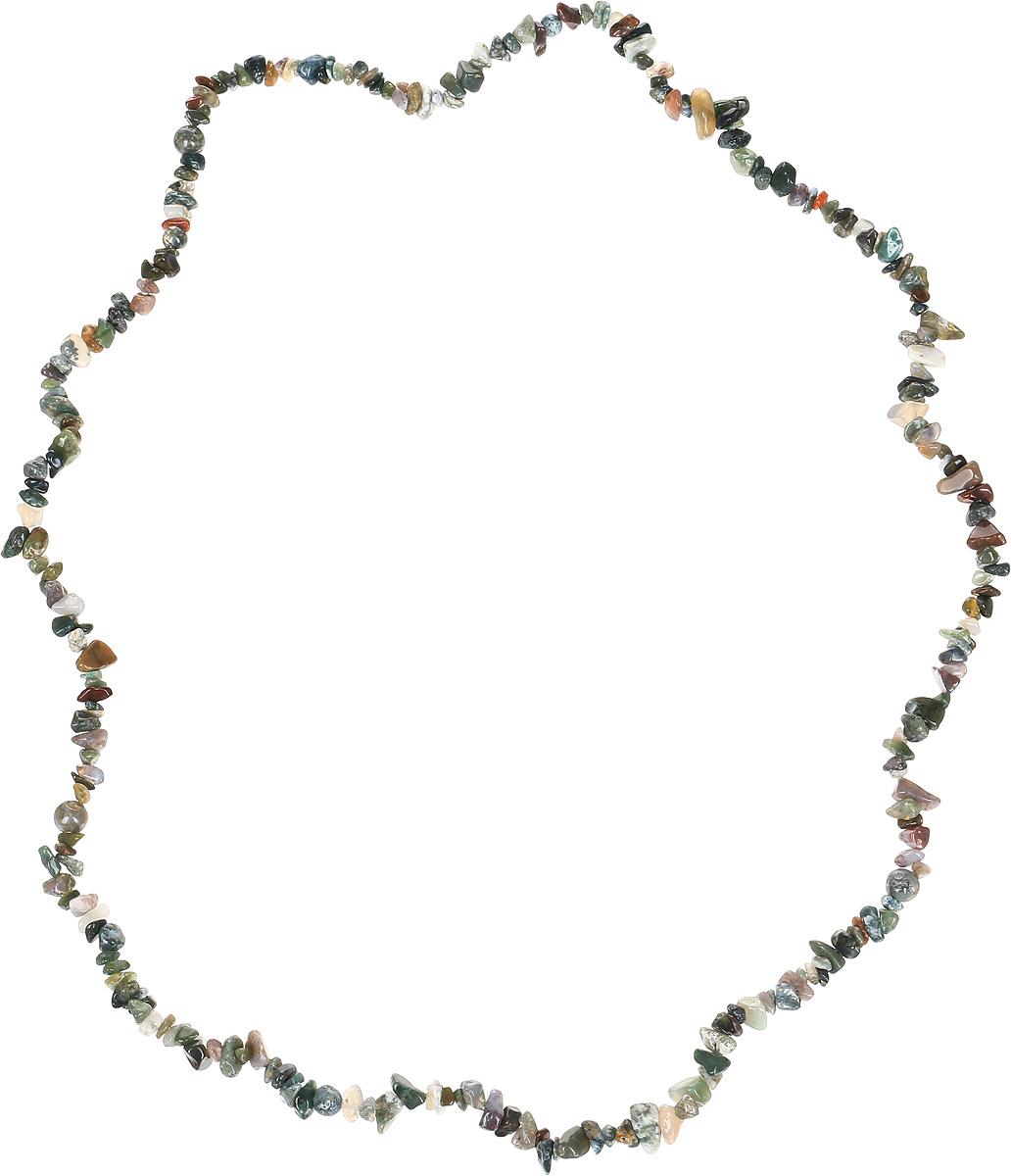 Бусы Револю Забава 2, цвет: зеленый. НЯШ-75-90-2Колье (короткие одноярусные бусы)Бусы из натуральной яшмы. Длина бус 80 см. Цветные яшмы очень многообразны! Кажется, среди несметной россыпи яшмовых камней не найти и двух одинаковых! Если вы любите неожиданности и сюрпризы, если вам по душе яркость и бесконечная череда радостных дней, носите это благородное украшение из весёлой яшмы, такой нарядной и всегда разной!