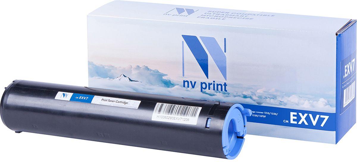 NV Print CEXV7, Black тонер-туба для Canon IR-1200/1210/1230/1270/1330/1510NV-CEXV7Тонер-туба NVP лазерный совместимый Canon, производитель NV Print, модель NV-C-EXV7 для Canon IR-1200/1210/1230/1270/1330/1510, ресурс 5300 копий.
