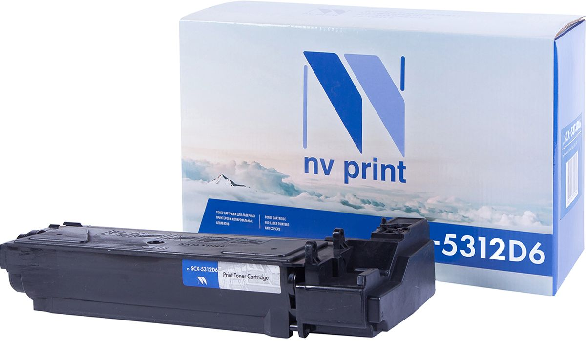 NV Print SCX5312D6, Black картридж для Samsung SCX-5112/SCX-5115/SCX-5312/SCX-5312F - Расходные материалы