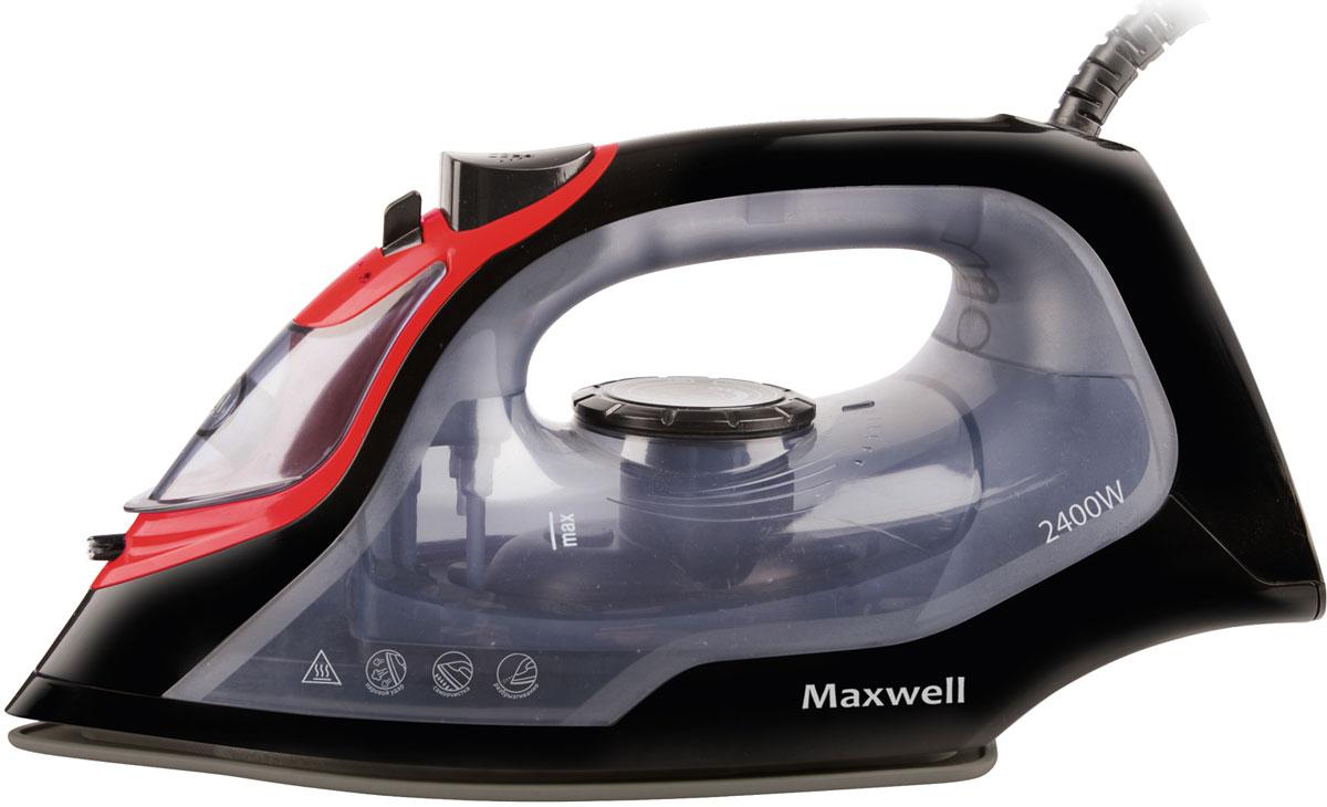 Maxwell MW-3034 (BK) утюгMW-3034(BK)Утюг Maxwell MW-3034 (ВK) оснащен функцией вертикального отпаривания и самоочистки. Подошва утюга выполнена из надежной стали, покрытой антипригарным покрытием, которое обеспечивает бережное отношение к разным тканям и прекрасное скольжение по любой одежде в процессе глажения.Утюг Maxwell MW-3034 (ВK) быстро нагревается. По необходимости вы можете изменить температуру нагрева подошвы, что позволяет бережно выгладить одежду даже из деликатных тканей. Более того, есть возможность использования функции разбрызгивания, что значительно облегчает отглаживание глубоких складок. Данной техникой пользоваться легко и приятно. Глажение вещей не занимает много времени, при этом всегда можно изменить режим работы устройства движением одного пальца.