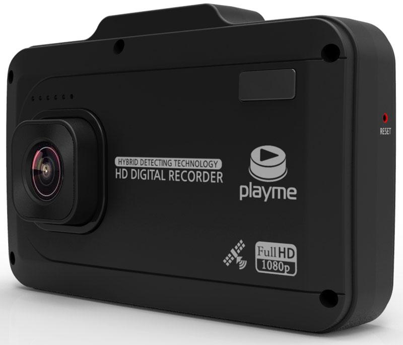 PlayMe P500 Tetra видеорегистратор с радар-детекторомPlayMe-P500PlayMe P500 Tetra - это новое слово в развитии гибридных устройств, в котором мощная радарная антенна имеет длину всего несколько миллиметров. Гаджет настолько миниатюрный, что будет сложно догадаться о встроенном радар-детекторе.Автомобильный видеорегистратор способен детектировать все самые современные радары и камеры ГИБДД. Кроме того, устройство имеет встроенный GPS модуль и предустановленную базу мест расположения камер полиции по всей России. Благодаря такому двойному принципу оповещения водителя производитель добился практически 100% вероятности предупреждения о возможной опасности. Вы будете оповещены даже о так называемых необнаружимых комплексах типа Автодория, которые не детектируются классическими антирадарами.Все предупреждения антирадара и изображения видеорегистратора выводятся на один общий сенсорный дисплей. Информация дублируется голосовыми комментариями и визуальными вставками (скорость движения, сила детектируемого сигнала, диапазон срабатывания, дальность до камеры и даже её модель). Присутствует несколько режимов работы по чувствительности Трасса и Город, а так же специальный режим отсечения ложных срабатываний.Матрица: OmniVision OV4689Чипсет: AIT8328PАккумулятор: 440 мАчРабочая температура: -20 - 70 °C