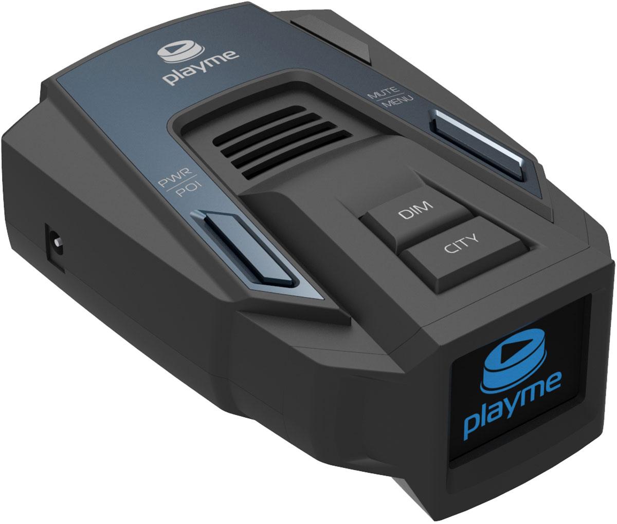 PlayMe Silent радар-детекторPlayMe-SILENTPlayMe Silent точно определяет модели радаров, игнорируя «ложные» излучатели. На премиальном дисплее выводится информация о скорости, расстоянии до камеры и ее модели. Диагональ монитора — 1,5 дюйма, а сигналы дублируются голосом.Данный радар-детектор адаптирован для использования в городских условиях, где общий уровень сигналов и возможность ложных срабатываний многократно возрастает.Отключение отдельных диапазоновТип дисплея: OLEDЗащита от ложных срабатыванийСохранение настроекСпектральная чувствительность: 800 - 1100 нмРабочая температура: -20°C - +70°C