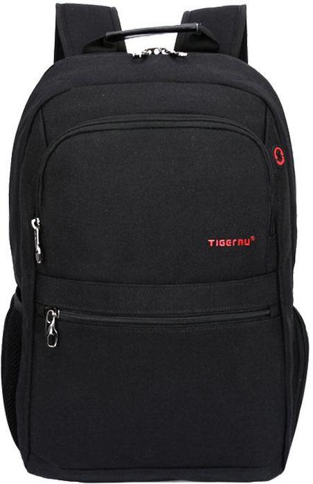Tigernu T-B3092, Black рюкзак для ноутбука 14T-B3092Рюкзак Tigernu T-B3092 отлично подойдет для работы, учебы или путешевствий. Сделан из высокопрочного,водоотталкивающего материала. Довольно легкий. Отделение для ноутбука и планшета со вставкой из защитной пены, которое защитит ваши устройства от царапин и других повреждений. S-образная конструкция спинки с воздухопроницаемой губкой обеспечивает идеальную мягкую посадку. Основное отделение с двойной молнией (защита от кражи). Задний ремешок H-дизайна для ручки и спинки.