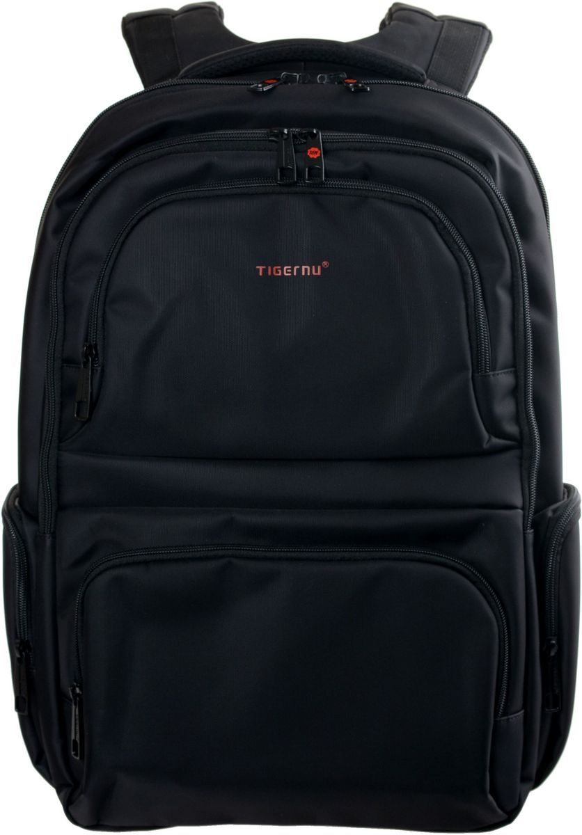 Tigernu T-B3140, Black рюкзак для ноутбука 17T-B3140Рюкзак Tigernu T-B3140 отлично подойдет для работы, учебы или путешевствий. Сделан из высокопрочного,водоотталкивающего материала. Довольно легкий. Отделение для ноутбука и планшета со вставкой из защитной пены, которое защитит ваши устройства от царапин и других повреждений. На задней части рюкзака находится скрытый карман, где Вы можете хранить свои документы и ценные вещи. S-образная конструкция спинки с воздухопроницаемой губкой обеспечивает идеальную мягкую посадку. Основное отделение с двойной молнией (защита от кражи).