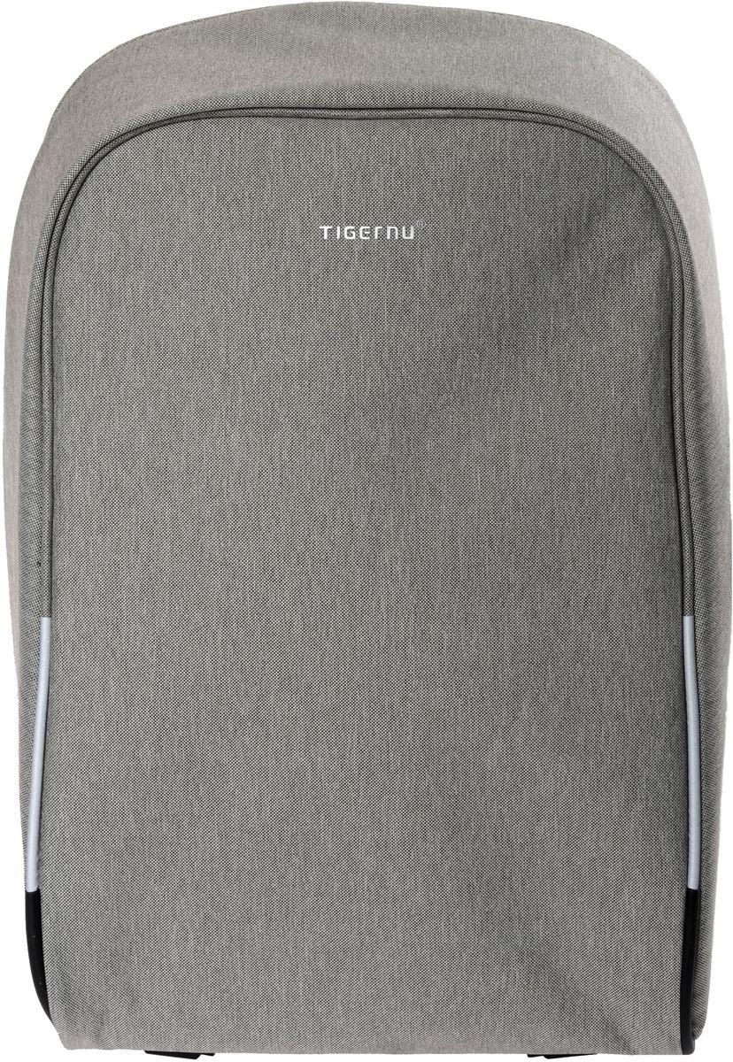 Tigernu T-B3213, Light Grey рюкзак для ноутбука 16T-B3213Рюкзак Tigernu T-B3213 отлично подойдет для работы, учебы или путешевствий. Сделан из высокопрочного,водоотталкивающего материала. Довольно легкий. Отделение для ноутбука и планшета со вставкой из защитной пены, которое защитит ваши устройства от царапин и других повреждений. S-образная конструкция спинки с воздухопроницаемой губкой обеспечивает идеальную мягкую посадку. Основное отделение с двойной молнией (защита от кражи). Эластичная протяжка для ручек чемоданов.