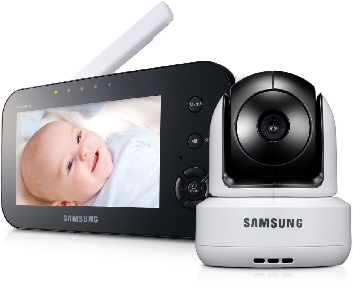Samsung Видеоняня SEW-3041W -  Радио и видеоняни