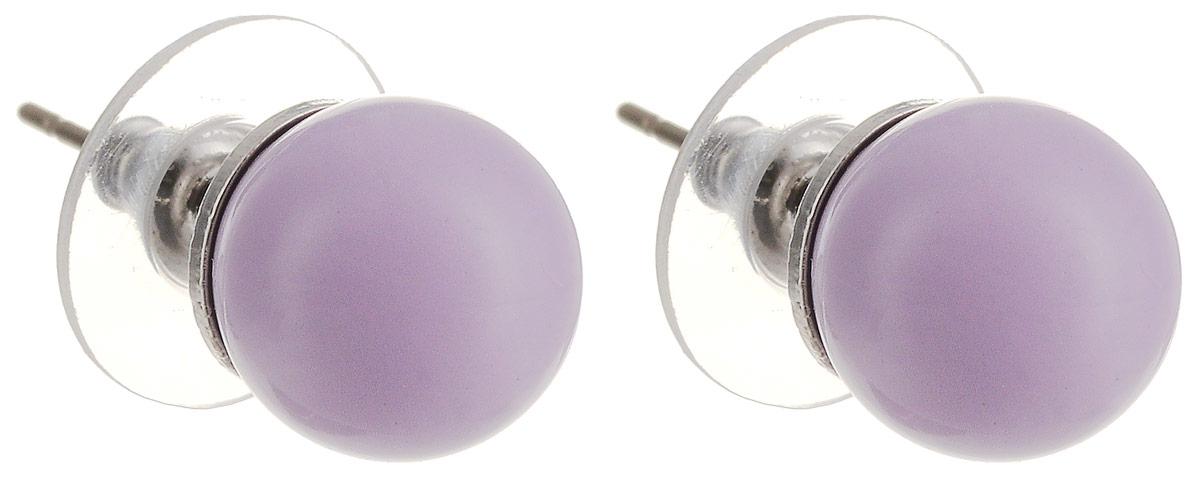 Серьги-пусеты Аромат лаванды. Бижутерное стекло, гипоаллергенный бижутерный сплав серебряного тона. Krikos, КитайПуссеты (гвоздики)Серьги-пусеты Аромат лаванды. Бижутерное стекло, гипоаллергенный бижутерный сплав серебряного тона.Krikos, Китай.Размер - диаметр 1 см.