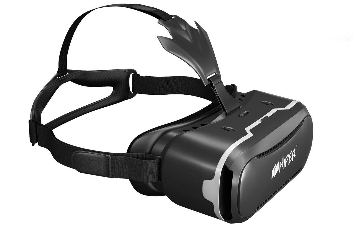 HIPER VRQ очки виртуальной реальностиVRQПогрузиться в яркий искусственный мир теперь стало максимально просто с очками виртуальной реальности Hiper VRQ.Стильный девайсс асферическими акриловыми линзами диаметром 42 мм обеспечивает четкую и насыщенную картинку с плавным движением при поворотах головы. Линзы поддерживают регулировку межфокусного расстояния. Угол обзора устройства равен 90-110 градусам.Очки виртуальной реальности совместимы со смартфонами на iOS и Android с дисплеем 4,3-6 дюймов.Тип линз: асферические акриловые линзы.Угол обзора: 90 - 110 градусовБезопасная защелка для удержания телефонаРегулируемый ремешокАмбушюры из искусственной кожи по краю маскиРегулировка фокусного расстоянияРегулировка межфокусного расстояния