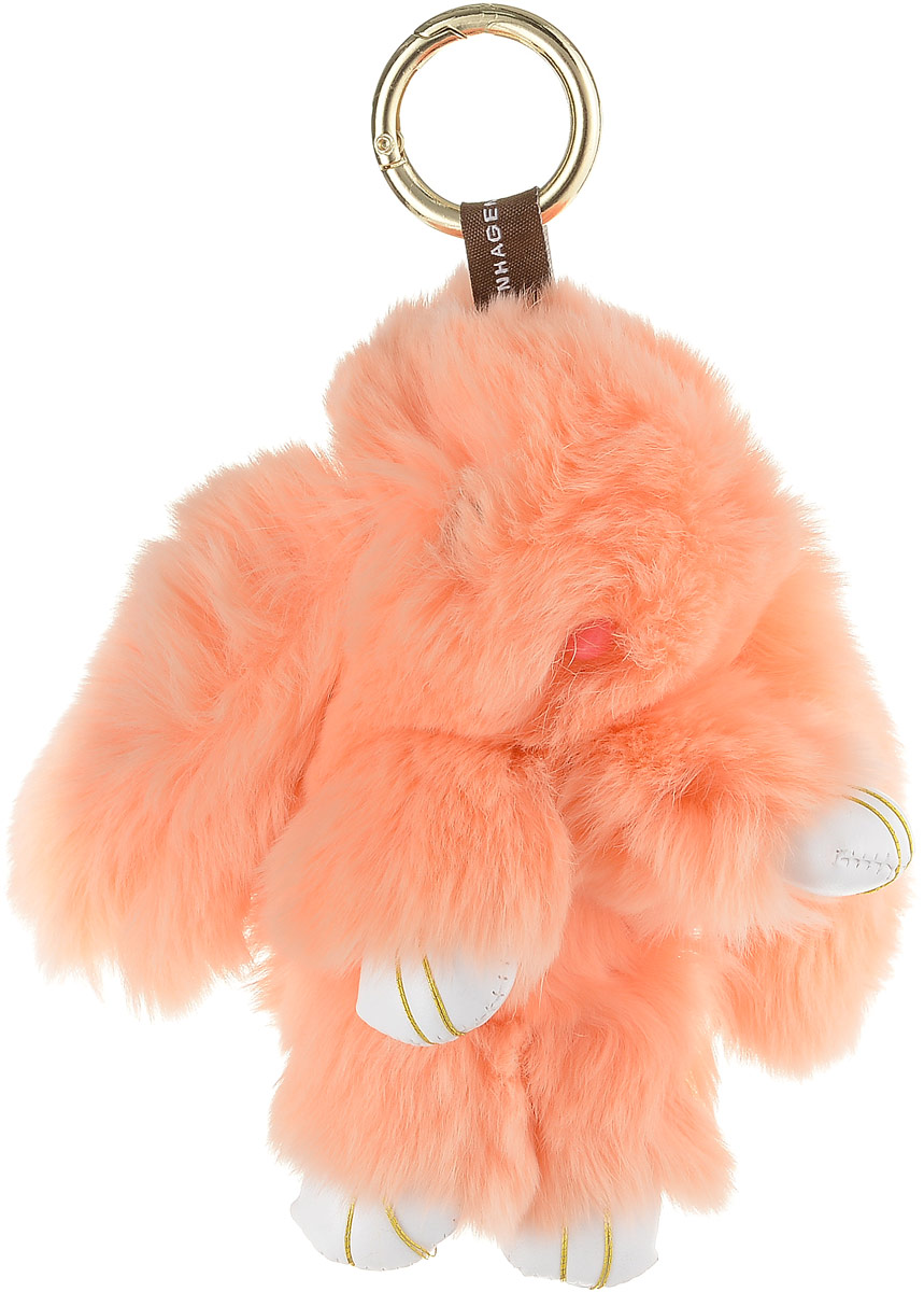 Брелок женский Mitya Veselkov, цвет: оранжевый. BRELOK-KROLIK-ORANGEBRELOK-KROLIK-ORANGE
