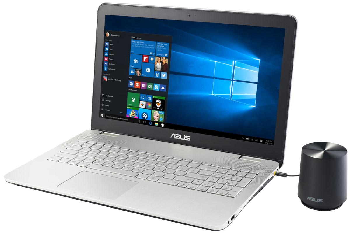 ASUS N551VW, Grey (N551VW-FW325T)90NB0AH1-M03920Модель ноутбука ASUS N551VW обладает мощной конфигурацией и широкой функциональностью. Его отличительной особенностью является наличие высококачественной встроенной аудиосистемы с технологией SonicMaster Premium.Ноутбук ASUS N551VW выполнен в тонком корпусе с металлической отделкой, который обладает оригинальным дизайном. ASUS N551VW обладает мощной конфигурацией и широкой функциональностью. Несмотря на это, он выполнен в тонком корпусе, который может похвастать стильным дизайном с привлекающими взгляд элементами, такими как волнистая решетка динамиков.Ноутбук ASUS N551VW может похвастаться красочным изображением с широкими углами обзора. Матовое покрытие экрана способствует минимизации бликов. Разрешение составляет 1920х1080 пикселей (формат Full HD).Эксклюзивная технология ASUS Splendid позволяет быстро настраивать параметры дисплея в соответствии с текущими задачами и условиями, чтобы получить максимально качественное изображение. Всего доступно четыре режима настройки, поэтому пользователь легко может выбрать тот, который оптимально подходит для каждого типа приложений.Превосходный звук ноутбука обеспечивает технология SonicMaster Premium, разработанная совместно со специалистами фирмы Bang & Olufsen ICEpower. Она представляет собой комплекс аппаратных и программных средств, обеспечивающих беспрецедентное для мобильных компьютеров качество звучания. Для более реалистичной передачи низких частот в комплект поставки устройства входит внешний сабвуфер.Современные мультимедийные приложения являются довольно ресурсоемкими, поэтому ноутбук ASUS N551VW обладают мощной конфигурацией, в которую входят процессор Intel Core I7-6700HQ и дискретная видеокарта NVIDIA GeForce GTX960M.Ноутбук ASUS N551VW умеет выходить из спящего режима всего за пару секунд, причем в режиме сна он может пробыть до двух недель без подзарядки. Если же уровень заряда батареи опустится ниже 5%, произойдет автоматическое сохранение всех открытых файлов