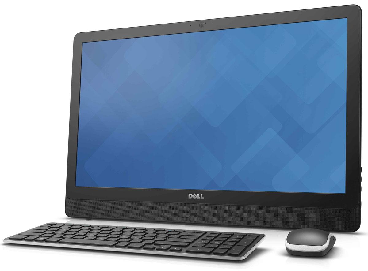 Dell Inspiron 3459-1714, Black моноблок3459-1714Dell Inspiron 3459 отличается дисплеем с разрешением Full HD и широкими углами обзора, простой конструкцией, предусматривающей использование всего одного кабеля, и мощным процессором Intel Core i3-6100U. Это оптимальное решение для всей семьи.Откидная подставка и конструкция, предусматривающая использование всего одного кабеля, позволяют быстро и легко разместить компьютер в любом помещении. Корпус компьютера Dell Inspiron 3459 с невероятно тонкой панелью и выполненные в едином стиле с корпусом клавиатура и мышь прекрасно дополнят любой интерьер.Оцените совершенно новый уровень фильмов и игр благодаря процессору Intel. Встроенный графический адаптер, высочайшая производительность и потрясающее качество изображения выводят мультимедийные возможности компьютера на новый уровень. Dell Inspiron 3459 с дисководом оптических дисков и жестким диском емкостью 1 Тбайт предоставит достаточно места для хранения фильмов, памятных фотографий, материалов школьных проектов и многого другого для всех членов семьи и будет работать без малейших задержек. Реализованная в Dell Inspiron 3459 поддержка технологии беспроводной связи и высокой скоростью передачи позволит вам общаться с друзьями и близкими или быстро загружать музыку и фильмы. Несколько портов USB 2.0 и 3.0, выход HDMI, многоформатное устройство считывания карт памяти 4-в-1 и порт Ethernet обеспечивают эффективное подключение других устройств.Встроенные стереодинамики с поддержкой технологии Waves MaxxAudio и широкоформатная веб-камера с разрешением HD обеспечивают превосходные ощущения при общении по Skype с близкими и друзьями.Точные характеристики зависят от модификации.Моноблок сертифицирован EAC и имеет русифицированную клавиатуру и Руководство пользователя.