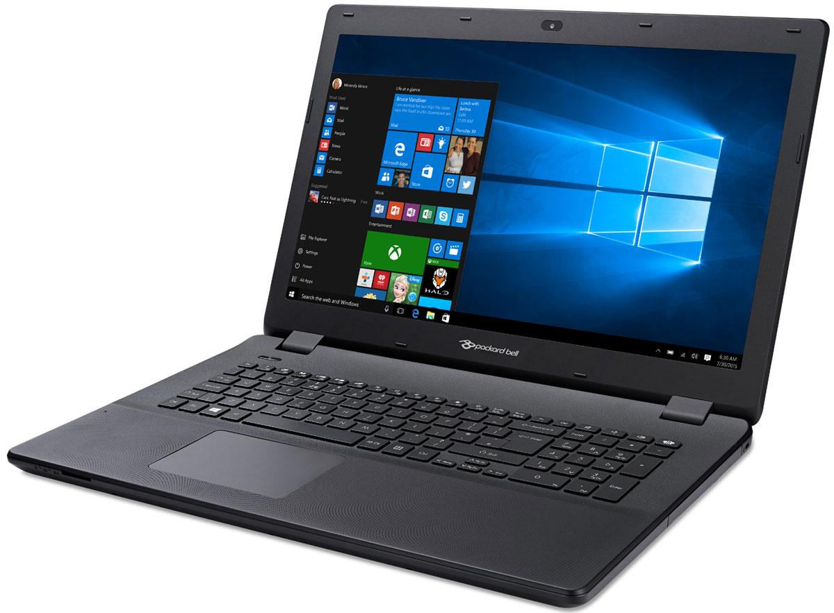 Packard Bell ENLG81BA-P5GN, Black (NX.C44ER.006)NX.C44ER.006Ноутбук Packard Bell ENLG81BA-P5GNс изящным дизайном сочетает в себе доступность и удобство использования, что позволяет с его помощью эффективно решать повседневные задачи. Вы сможете всегда оставаться на связи, легко справляться с повседневными задачами и наслаждаться всеми возможностями для развлечений. Этот ноутбук основан на эффективной, проверенной временем технологии, что делает его идеальным решением для всей семьи.Вы сможете брать ноутбук Packard Bell ENLG81BA-P5GN с собой повсюду. Благодаря продолжительному времени автономной работы (до 4 часов) вы можете работать и общаться с друзьями, где бы вы ни находились.Сенсорная панель Precision Touchpad повышенной точности помогает работать эффективнее, обеспечивая более удобные возможности масштабирования, прокрутки и навигации. Панель также оснащена технологией, ограничивающей возможности случайного ввода и случайных движений курсора — вводить данные и наводить курсор стало проще, без досадных побочных эффектов. Кроме того, клавиатура устройства с глубиной нажатия 1,7 мм и большой удаленностью клавиш друг от друга повышает удобство ввода благодаря ощущению движений клавиш под пальцами.Экономьте пространство на вашем домашнем ПК или просматривайте медиаконтент, где бы вы ни находились. Благодаря экрану HD+ с диагональю 17,3 обеспечивается четкость и яркость видео. Смотрите видео в Интернете или подключите ноутбук к ТВ-устройству через порт HDMI, чтобы насладиться просмотром медиаконтента на большом экране.Точные характеристики зависят от модификации.Ноутбук сертифицирован ЕАС и имеет русифицированную клавиатуру и Руководство пользователя.