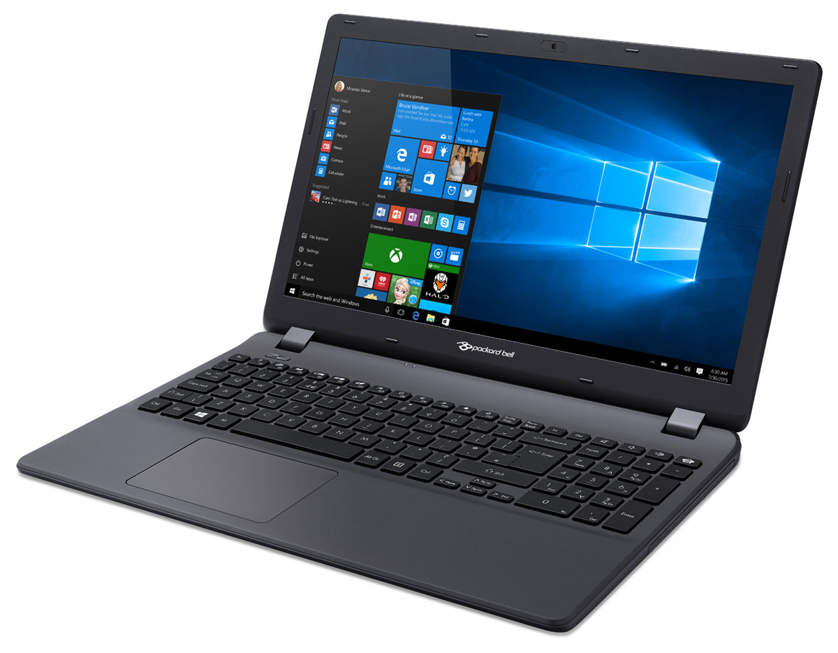 Packard Bell ENTG81BA-P35J, Black (NX.C3YER.019)NX.C3YER.019Ноутбук Packard Bell EasyNote TG81BA с изящным дизайном сочетает в себе доступность и удобство использования, что позволяет с его помощью эффективно решать повседневные задачи. Вы сможете всегда оставаться на связи, легко справляться с повседневными задачами и наслаждаться всеми возможностями для развлечений. Этот ноутбук основан на эффективной, проверенной временем технологии, что делает его идеальным решением для всей семьи.Вы сможете брать ноутбук Packard Bell EasyNote TG81BA с собой повсюду. Благодаря продолжительному времени автономной работы устройства (до 5,5 часов) вы можете работать и общаться с друзьями, где бы вы ни находились. Сенсорная панель Precision Touchpad повышенной точности помогает работать эффективнее, обеспечивая более удобные возможности масштабирования, прокрутки и навигации. Панель также оснащена технологией, ограничивающей возможности случайного ввода и случайных движений курсора - вводить данные и наводить курсор стало проще, без досадных побочных эффектов. Кроме того, клавиатура устройства с глубиной нажатия 1,7 мм и большой удаленностью клавиш друг от друга повышает удобство ввода благодаря ощущению движений клавиш под пальцами.Экономьте пространство на вашем домашнем ПК или просматривайте медиаконтент, где бы вы ни находились. Благодаря экрану HD с диагональю 15,6 обеспечивается четкость и яркость видео. Смотрите потоковое видео в Интернете или подключите ноутбук к ТВ-устройству через порт HDMI, чтобы насладиться просмотром медиаконтента на большом экране.Точные характеристики зависят от модификации.Ноутбук сертифицирован ЕАС и имеет русифицированную клавиатуру и Руководство пользователя.