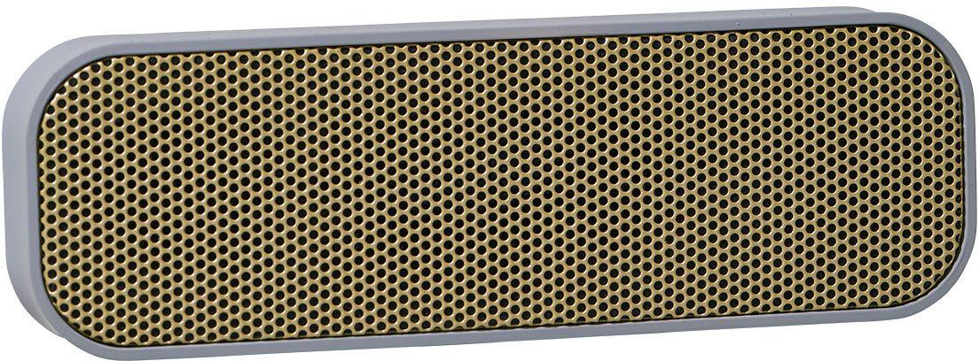 Kreafunk aGROOVE, Grey беспроводная портативная колонкаKfdz59Kreafunk aGROOVE - легкая беспроводная колонка со встроенным аккумулятором. Подключается к смартфону через Bluetooth или с помощью кабеля 3,5 мм (mini-jack), который входит в комплект. Простой, лаконичный и стильный дизайн. Корпус колонки имеет покрытие soft touch, приятное на ощупь, а внутри встроен микрофон для совершения звонков. Благодаря компактному размеру aGROOVE легко брать с собой, а качественные компоненты дают чистый и насыщенный звук. Время работы без подзарядки - до 20 часов (при 80% громкости). Поставляется в стильной деревянной коробке, которую украшают слова известного американского радиоведущего Джорджа Еллинека: История человечества - это история его песен.Емкость аккумулятора: 500 мAч