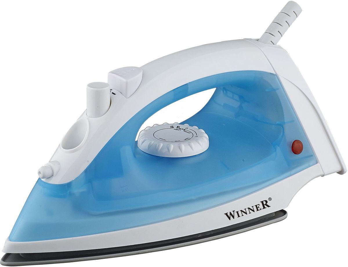 Winner Electronics WR-471 утюгWR-471Сухое глажение, отпаривание, функция подачи воды. Резервуар для воды: 110мл. Световой индикатор. Керамическое покрытие подошвы. Размеры подошвы 10,5*19,5см. 220-240V, 50/60Hz, 1600W