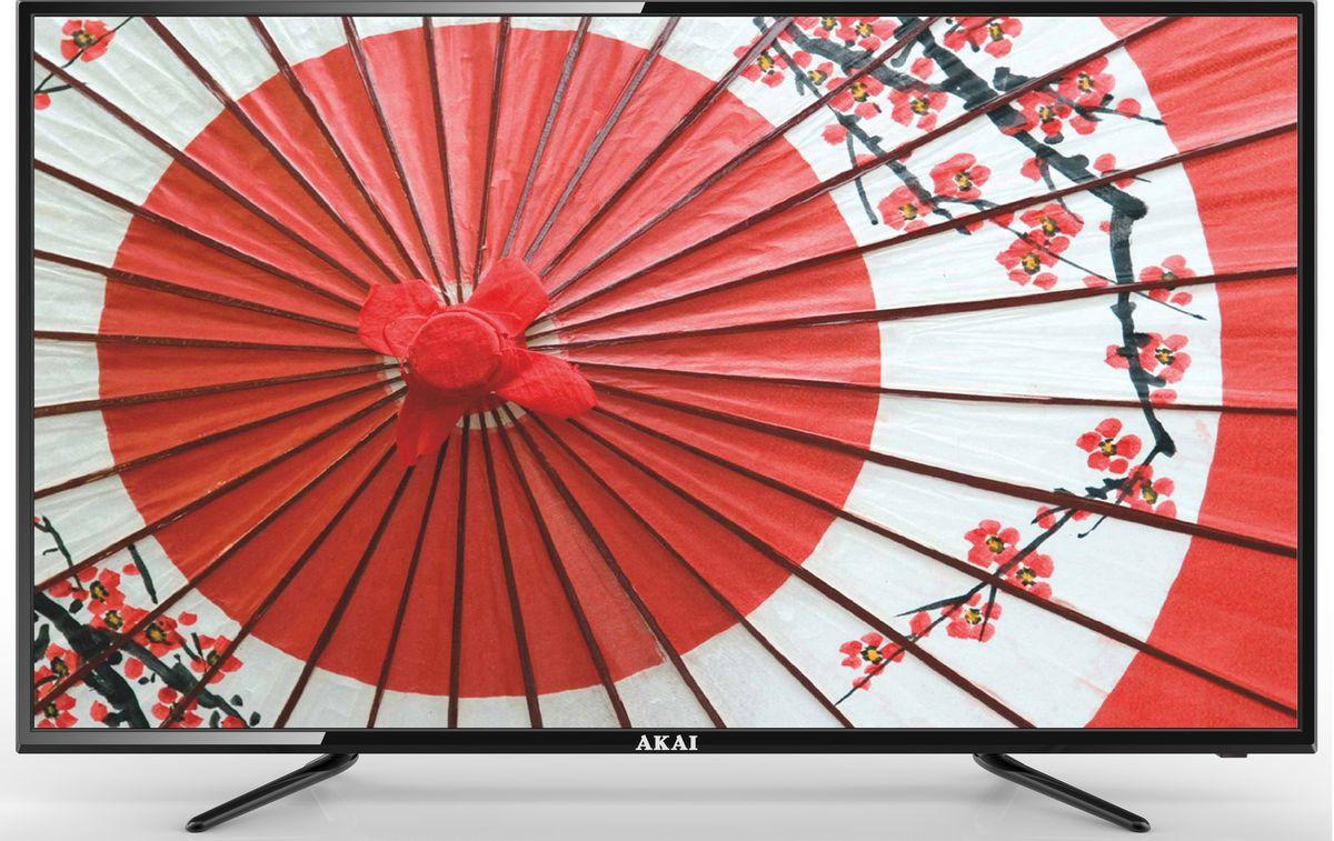 Akai LEA-50B56P телевизорLEA-50B56PAkai LEA-50B56P - ЖК-телевизор со светодиодной подсветкой, разрешением, обеспечивающей хорошую яркость изображения и в то же время экономно расходующей электроэнергию.Телевизор оснащён аналоговым и цифровым ТВ-тюнером. Благодаря этому владелец может принимать программы цифрового ТВ в высоком качестве без дополнительного оборудования.Аудиосистема состоит из двух динамиков мощностью по 10 Вт каждый. Они обеспечивают громкий, насыщенный, реалистичный звук, благодаря которому смотреть фильмы и телепередачи будет особенно приятно.Встроенные разъёмы USB и HDMI можно использовать для подключения различных внешних устройств и носителей информации. С их помощью владелец может выводить на большой экран видеофайлы и изображения с DVD-проигрывателей, ноутбуков, цифровых камер, флешек и так далее.