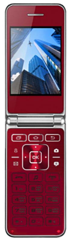 Vertex S104, RedS104-RDМобильный телефон Vertex S104 - стильная раскладушка с большим дисплеем. Корпус выполнен из перфорированного пластика. Металлическая рамка придает корпусу надежности. Гармонично подобранные элементы приносят эстетическое удовольствие владельцу данной модели.Модель оснащена большим и ярким экраном 2,8 для более удобного набора номеров, смс-сообщений, а также просмотра фото и видео-файлов. Важные функции телефона вынесены на главную панель монолитной клавиатуры. Наличие камеры для повседневных снимков.Одновременная работа двух SIM-карт позволяет просто и удобно совместить личный и рабочий номер в одном телефоне. Оставайтесь всегда на связи!Телефон сертифицирован EAC и имеет русифицированную клавиатуру, меню и Руководство пользователя.