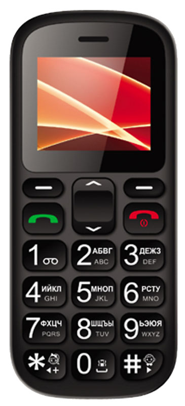 Vertex C305, BlackC305-BLVertex C305 - доступный и практичный телефон с док-станцией.Яркий цветной дисплей с высокой контрастностью и простой интерфейс - все для удобства использования. Кнопки с крупными цифрами облегчат набор номера. Идеален для людей с пониженным зрением и пожилых людей.Функция быстрого набора номера для быстрой связи с близкими. Отдельная клавиша SOS на задней панели телефона предусмотрена для экстренных случаев.В комплекте есть док-станция для комфортного хранения телефона дома, а также для удобства подзарядки.Встроенный фонарик послужит хорошим помощником в темноте.Одновременная работа двух SIM-карт позволяет просто и удобно быть на связи сразу по двум номерам.Телефон сертифицирован EAC и имеет русифицированную клавиатуру, меню и Руководство пользователя.