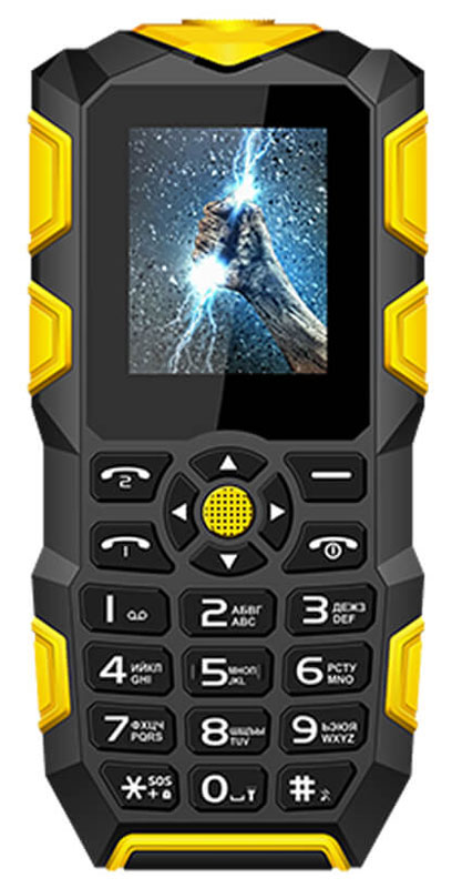 Vertex K203, Black YellowK203-BLORМобильный телефон Vertex K203 - модель с защитой IP68 от влаги и пыли, а такжес функцией Powerbank. Корпус телефона надежно защищен от механических воздействий. Благодаря степени защиты от воды IP68 телефон выдерживает погружение под воду до 1 м. Благодаря специальному корпусу, стеклу и общей герметичности, в случае экстренной ситуации телефон сохранит свою работоспособность.Телефон не тонет!Телефон оснащен функцией Powerbank на 2700 мАч, что дает возможность заряжать другие устройства.Цветной дисплей 1,77 обеспечивает удобное использование телефона при выполнении повседневных задач.Модель К203 можно брать с собой на рыбалку, в лес, в горы и не бояться его повредить. Защищенный телефон подойдет людям, которые любят активный отдых или занятия экстремальным спортом. Телефон оснащен мощный светодиодным фонариком для ориентации в темноте. Также поддерживает функцию SOS для экстренных ситуаций.Для того, чтобы вы смогли всегда оставаться на связи модель К203 поддерживает работу двух SIM-карт, активных в режиме ожидания. Благодаря этому можно использовать возможности сразу двух операторов связи так, как удобно вам. Оставайтесь всегда на связи!Телефон сертифицирован EAC и имеет русифицированную клавиатуру, меню и Руководство пользователя.